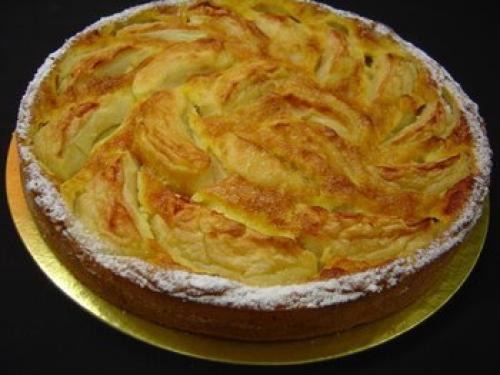 tarte aux pommes normande pour 6 personnes recette. Black Bedroom Furniture Sets. Home Design Ideas