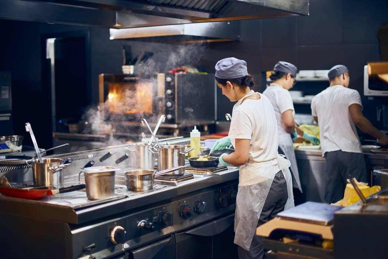 Tablier de cuisine pour les professionnels